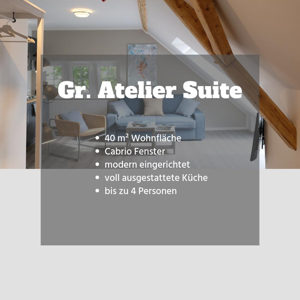 Große Atelier Suite Thalasso SPA Urlaub Ostfriesland Nordsee