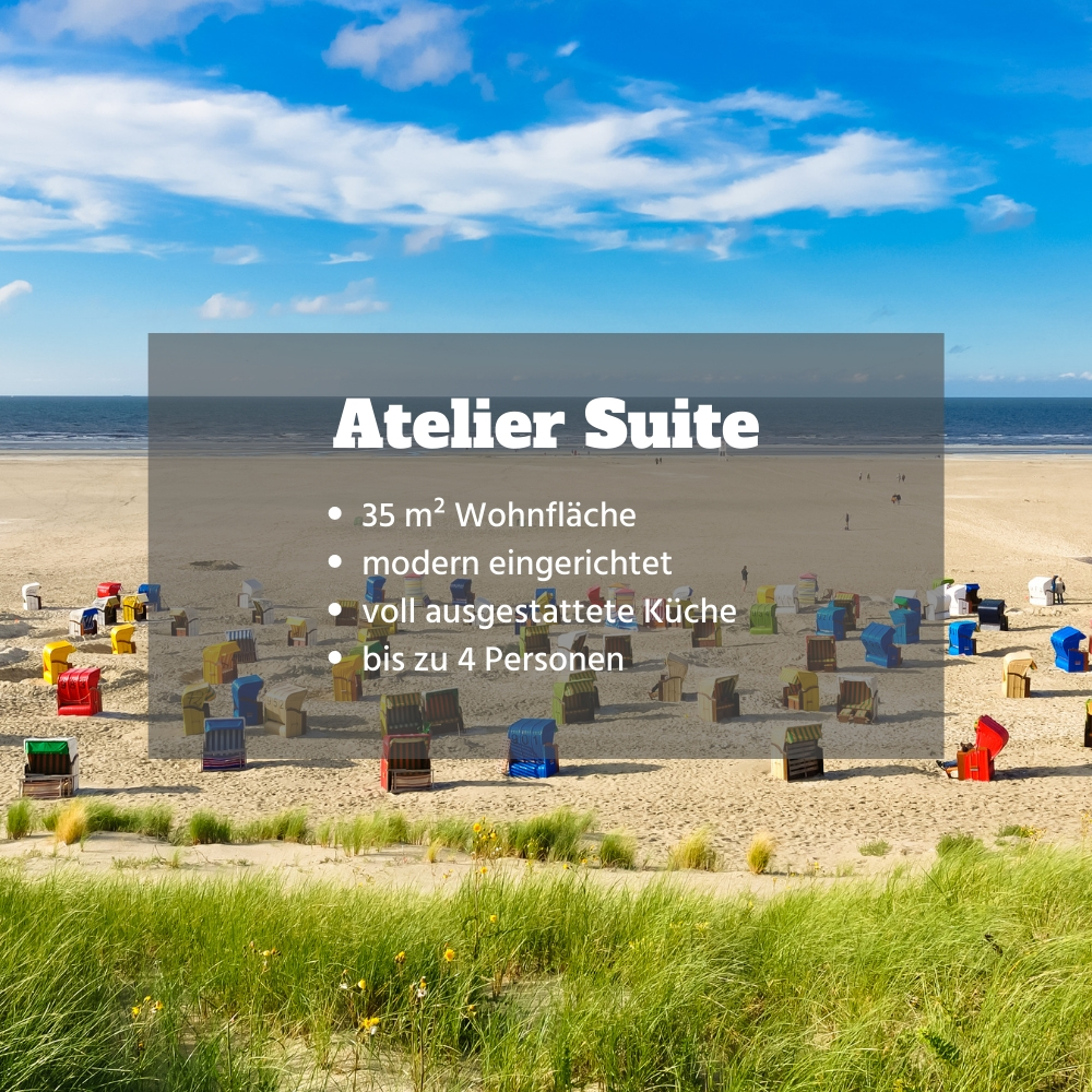Appartement Atelier Suite Thalasso SPA Urlaub Nordsee